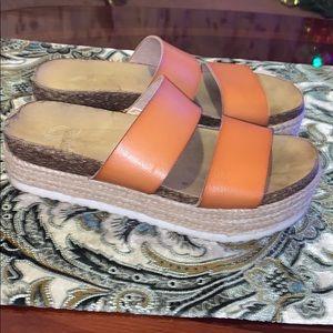 2 For $15 New Directions Lauren Flatform Sandals